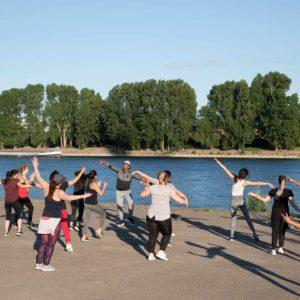 Sport am Rhein
