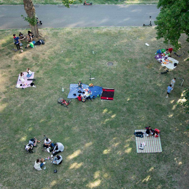 Picknicken am Rhein